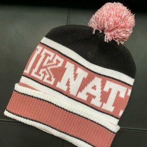Victoria's Secret Pink Nation Beanie Hat